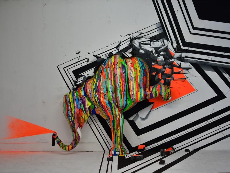 Le Zoo Art Show se prolonge d'un mois à Lyon