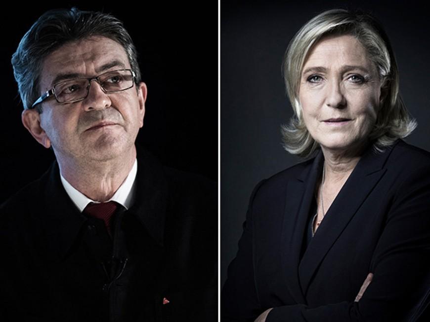 Lyon : après Macron, la pression est désormais sur Mélenchon et Le Pen