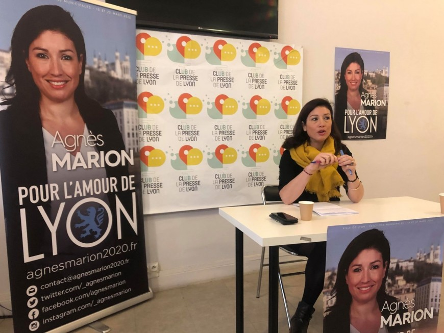 """Municipales à Lyon : """"le réel et l'amour de la ville"""" guideront Agnès Marion (RN)"""