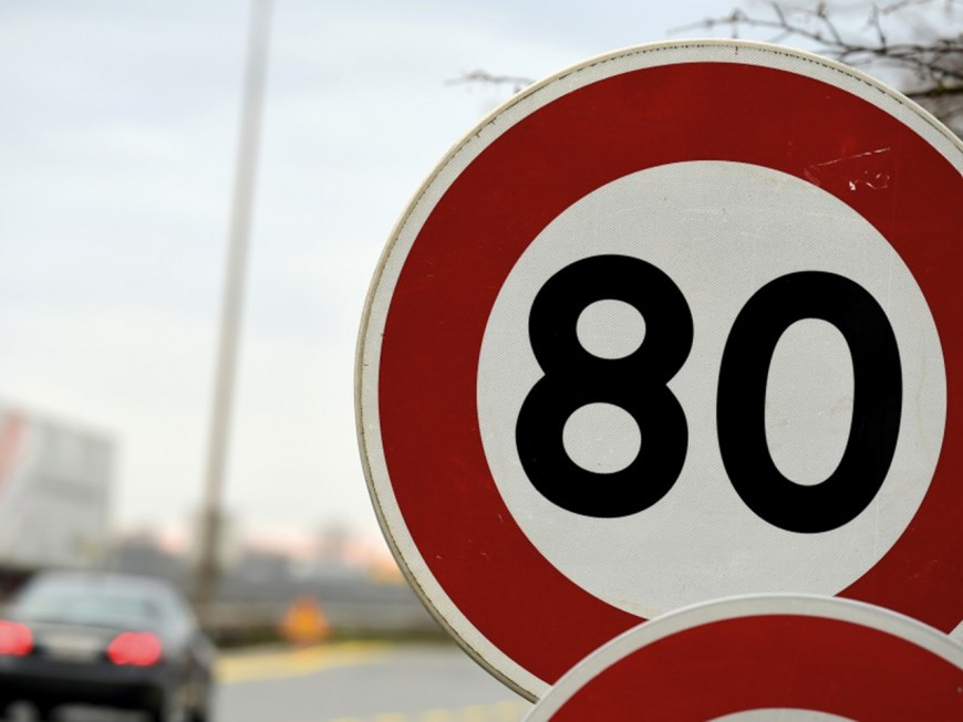 Limitation à 80km/h : levez le pied dès ce dimanche dans le Rhône !