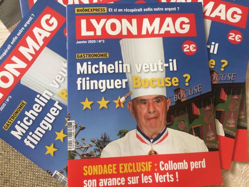 La menace Michelin pour Paul Bocuse en Une de LyonMag !