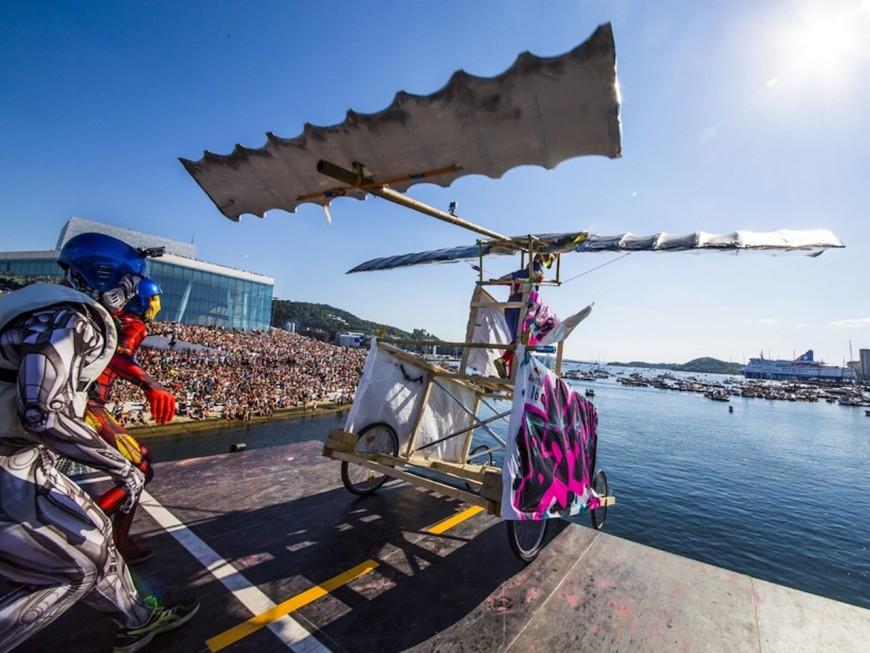 Red Bull Jour d'Envol : deux équipes lyonnaises se préparent à la compétition - VIDEO