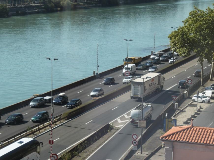 Près de Lyon : l'A7 coupée en direction de Paris (màj)