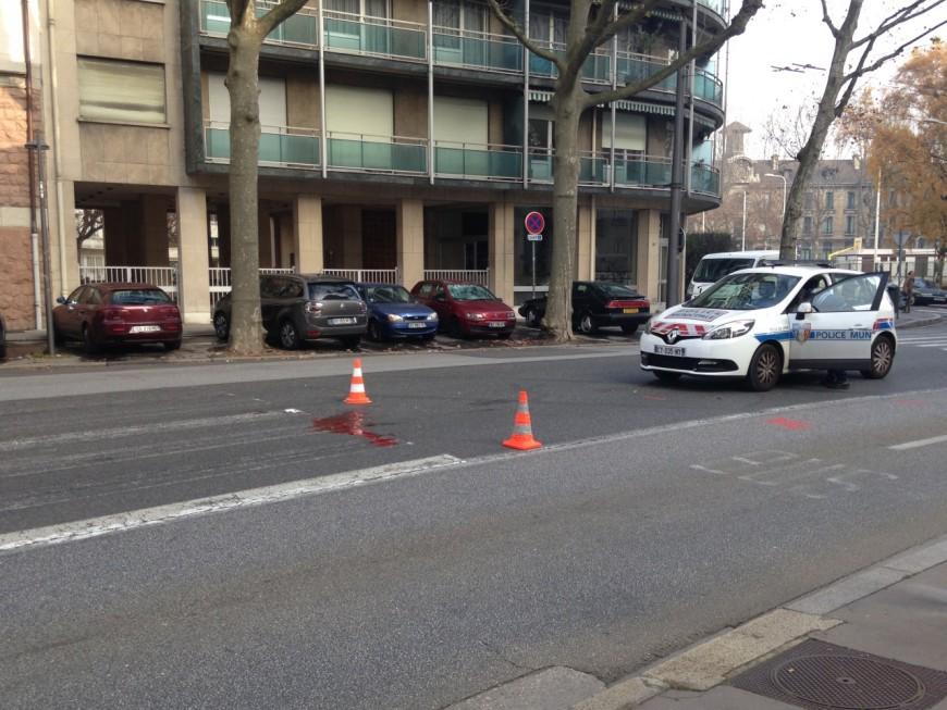 Encore un grave accident de la route dans le 6e arrondissement de Lyon