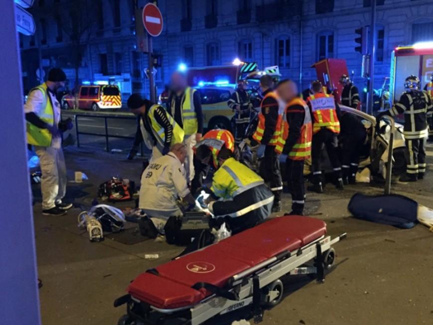 Nouvel accident grave dans le 6e arrondissement de Lyon, le chauffard en fuite