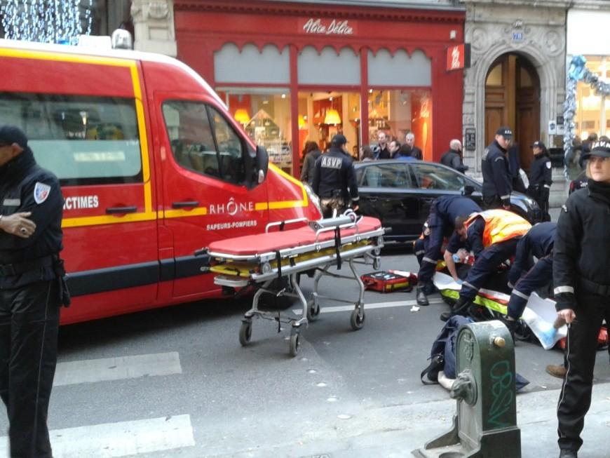 A Lyon, un cycliste termine à l'hôpital après une collision avec un piéton