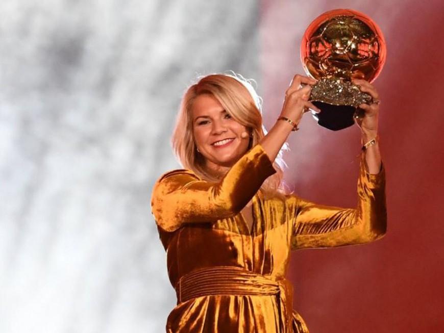 Ada Hegerberg (OL féminin) remporte le premier Ballon d'Or féminin