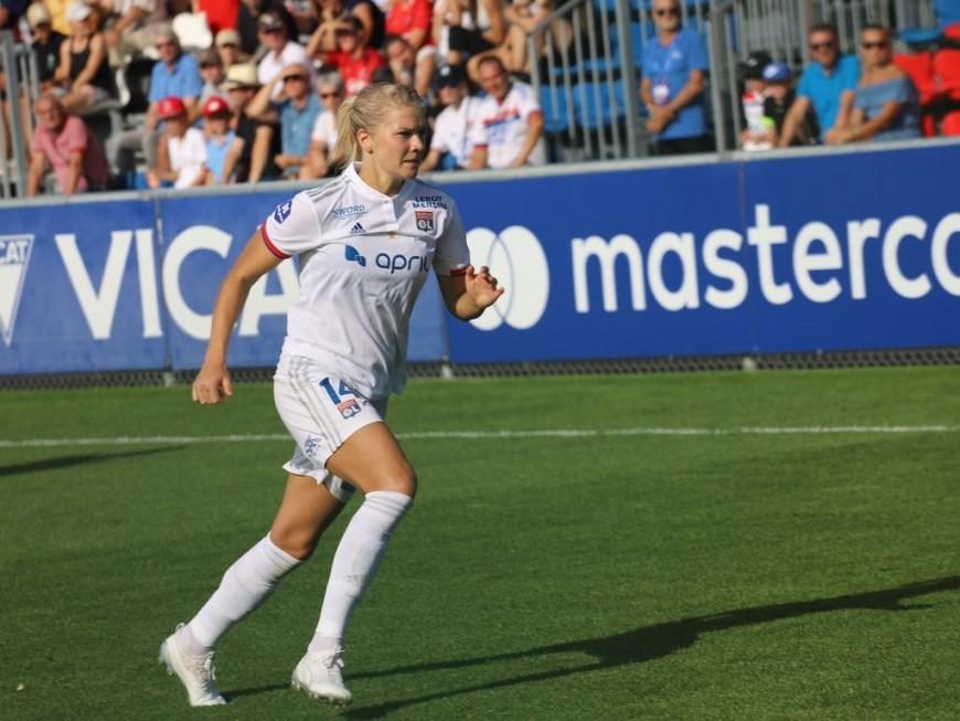 Ada Hegerberg (OL féminin) de retour à l'entrainement après 10 mois d'absence