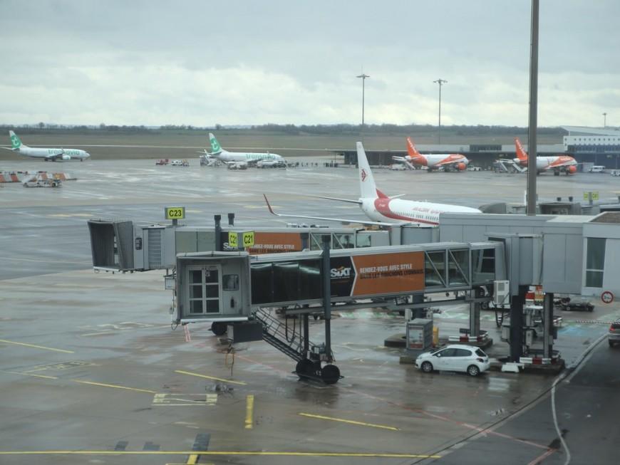 Le trafic a repris ce lundi à l'aéroport Lyon St Exupéry