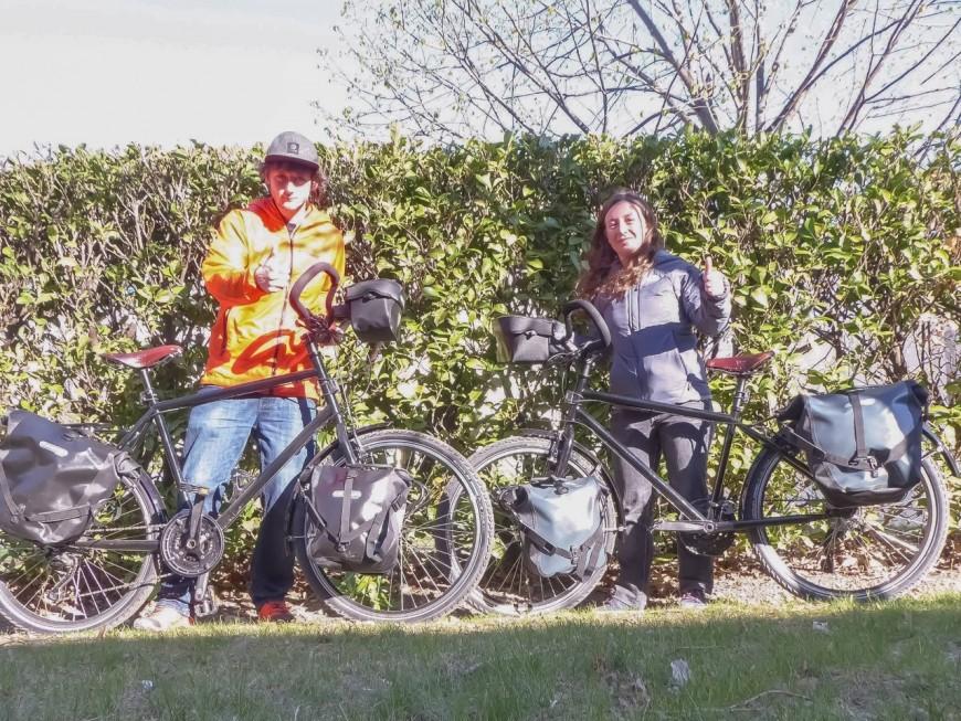 Deux Lyonnais vont traverser à vélo le continent américain de l'Alaska à Ushuaïa