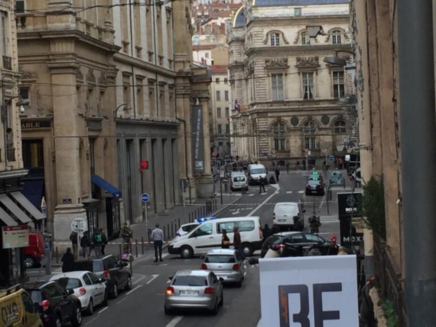 Un colis suspect signalé près de la Place des Terreaux à Lyon