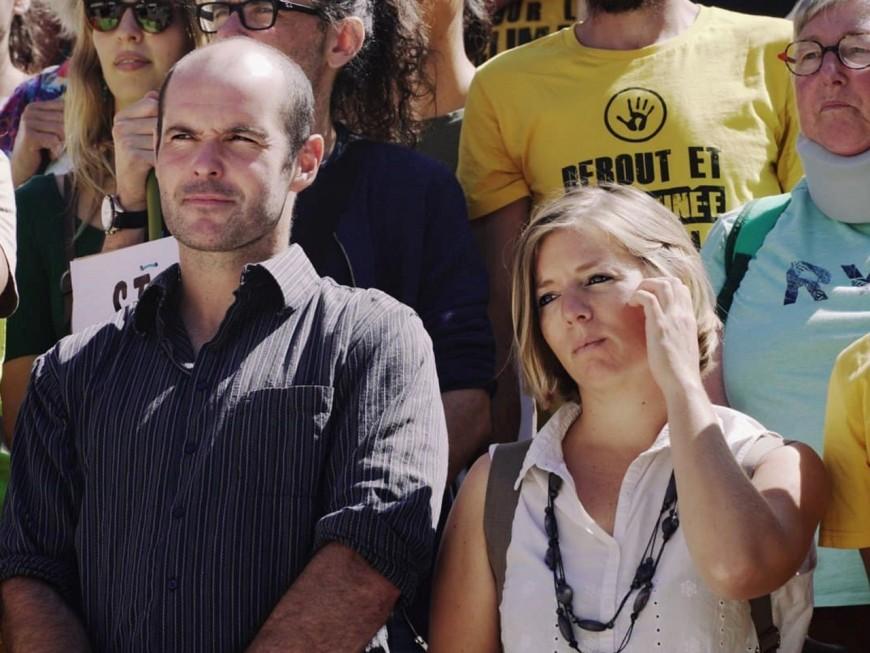 Portrait volé de Macron à Lyon : 500 euros d'amende requis à l'encontre des deux militants
