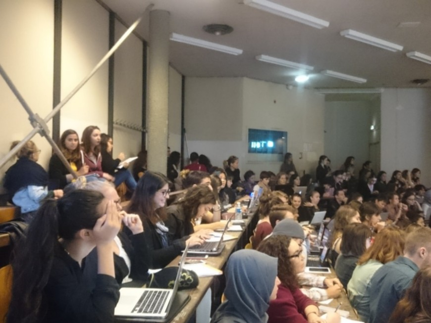 Surpopulation à l'université : Lyon dans le site participatif de l'UNEF