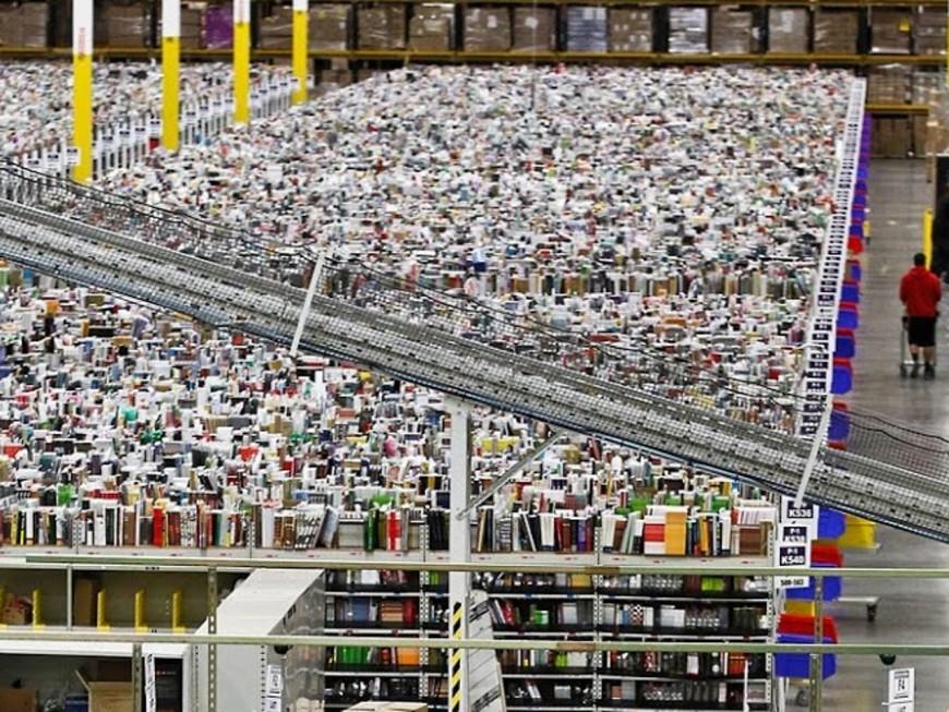Entrepôt XXL Amazon : FRACTURE et ACENAS font appel