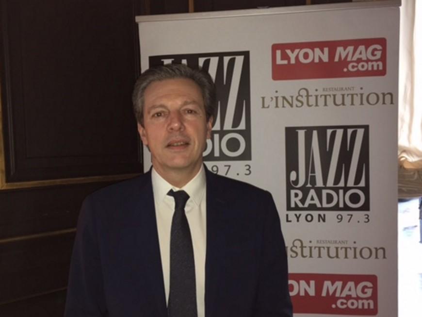 """Pascal Blache : """"Lourd à gérer d'illuminer la gare des Brotteaux tous les week-ends"""""""