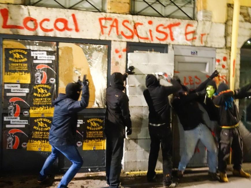 Lyon : six antifas interpellés après l'attaque du Bastion Social