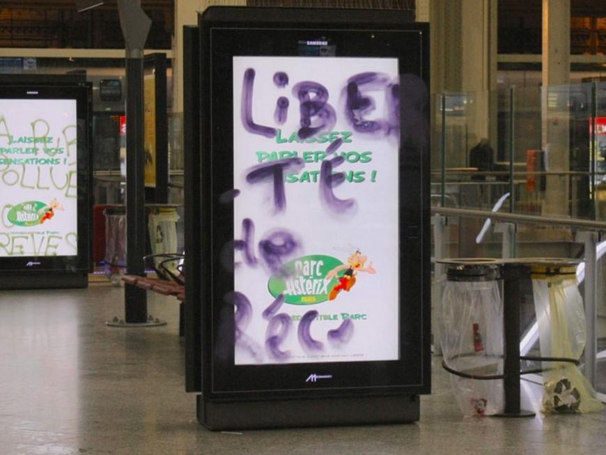 Lyon : un mouvement pour lutter contre la présence des panneaux publicitaires