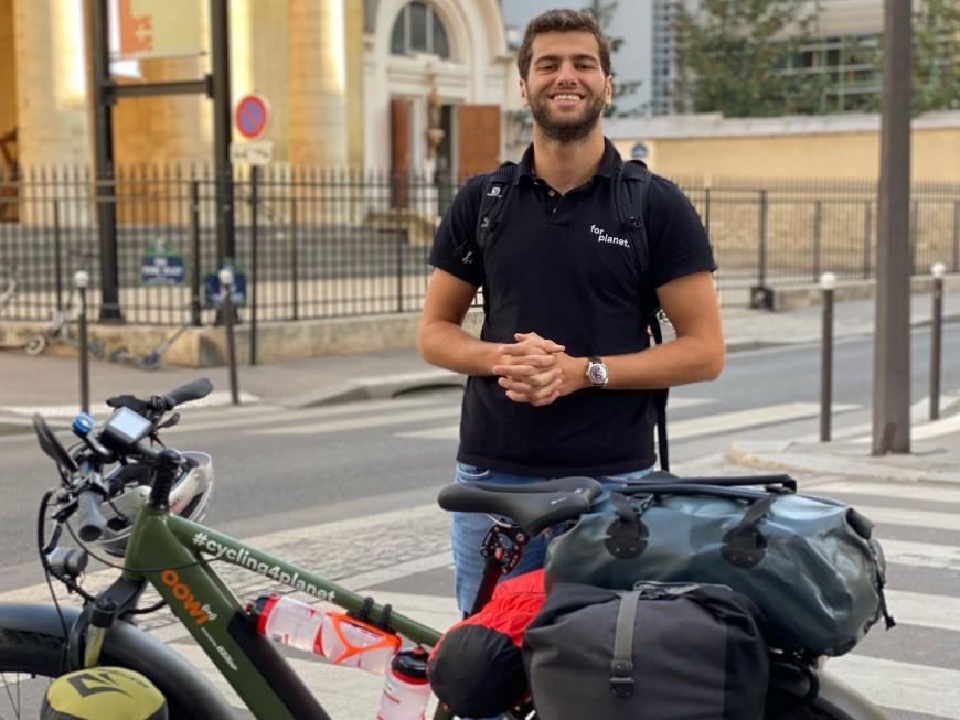 Lyon : il part faire le tour de l'Europe en vélo électrique pour la planète !