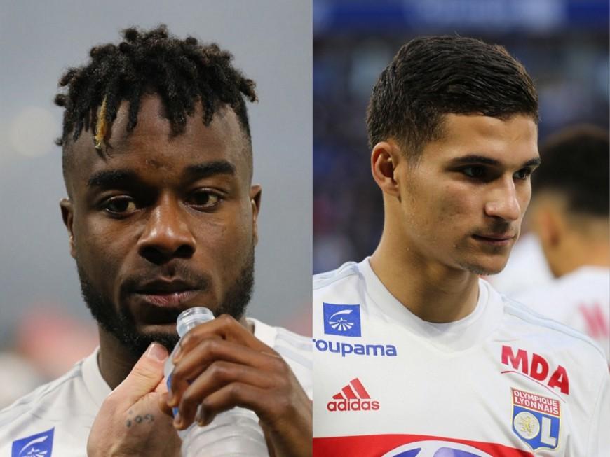 OL : Maxwell Cornet et Houssem Aouar forfaits pour les matchs internationaux