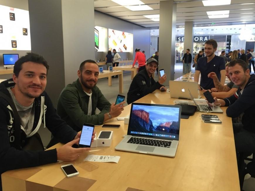Les Lyonnais devront patienter pour acheter un iPhone 7 en magasin