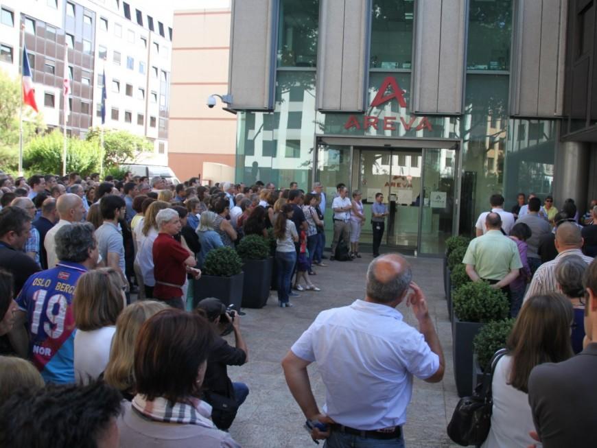 Areva : 400 grévistes à Lyon mardi