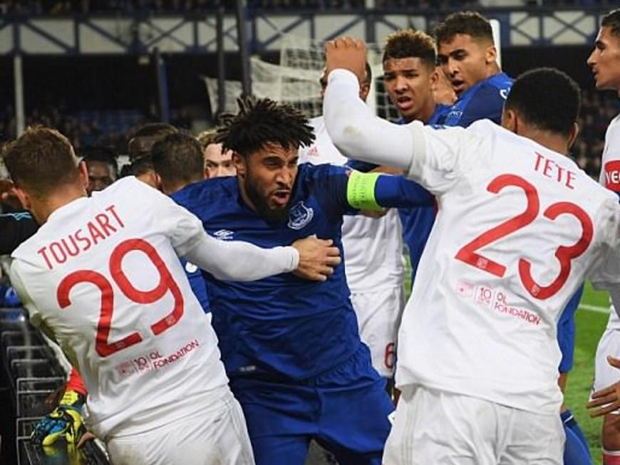 Bagarre lors d'Everton-OL : le club anglais mis à l'amende