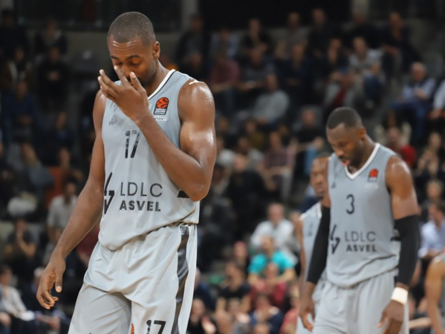 Euroligue : première défaite à l'Astroballe pour l'ASVEL