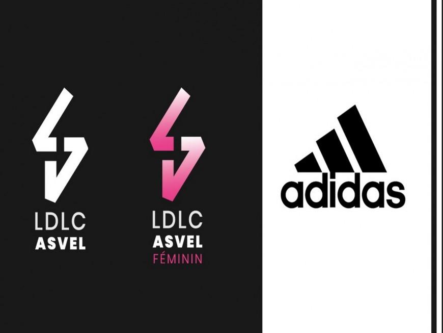 Adidas nouvel équipementier du LDLC ASVEL et LDLC ASVEL Féminin
