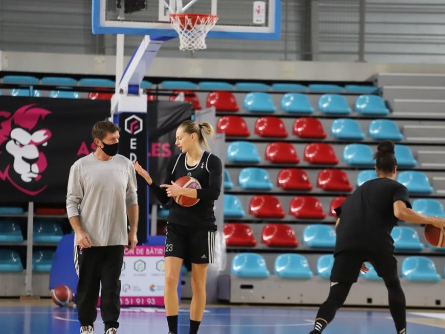 Basket : l'ASVEL féminin à nouveau à l'arrêt