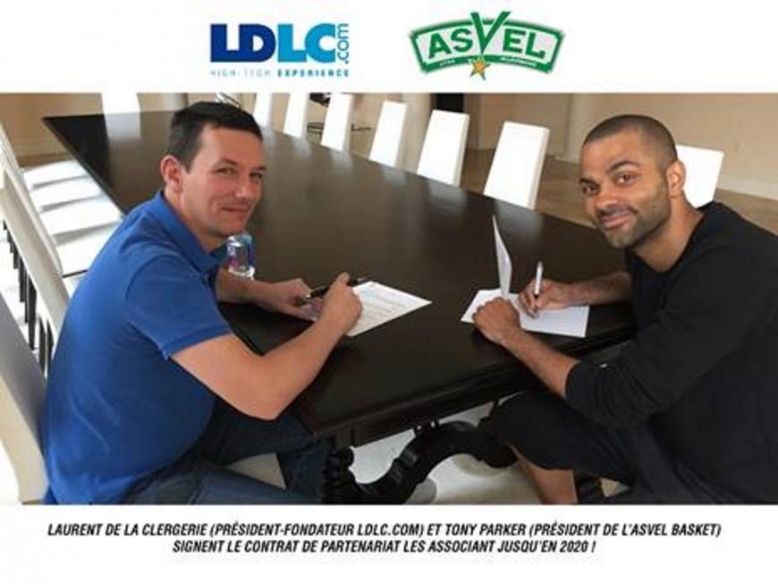 LDLC restera sponsor principal de l'ASVEL jusqu'en 2020
