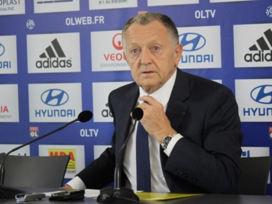 OL-LFP : Jean-Michel Aulas soutenu par...Bernard Caïazzo
