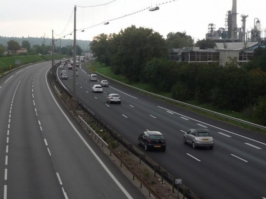 L'autoroute A450 fermée une semaine pour travaux