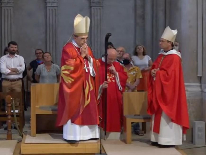 Le cardinal Barbarin a célébré sa dernière messe à Lyon devant 350 fidèles