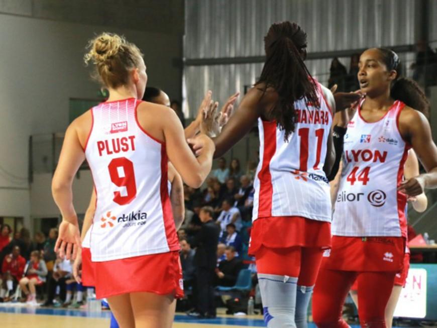 Basket : les Lyonnaises remportent un match serré (76-67)