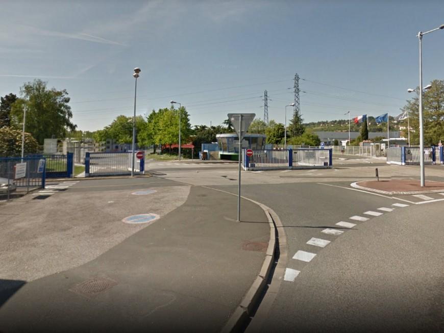 Rhône : une fuite de gaz devant l'usine Bayer CropScience