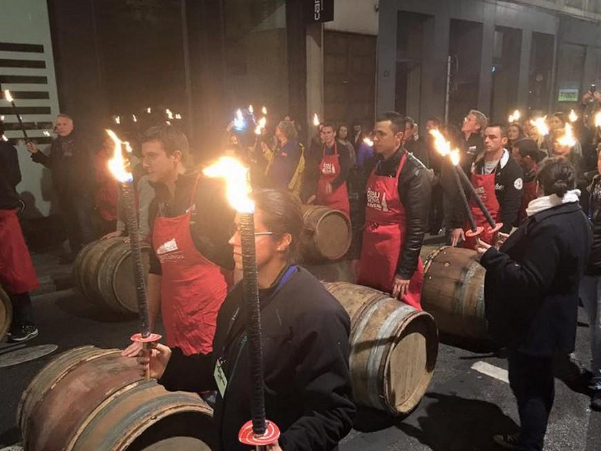 Le Beaujolais Nouveau 2016 à consommer dès minuit sur la place des Terreaux