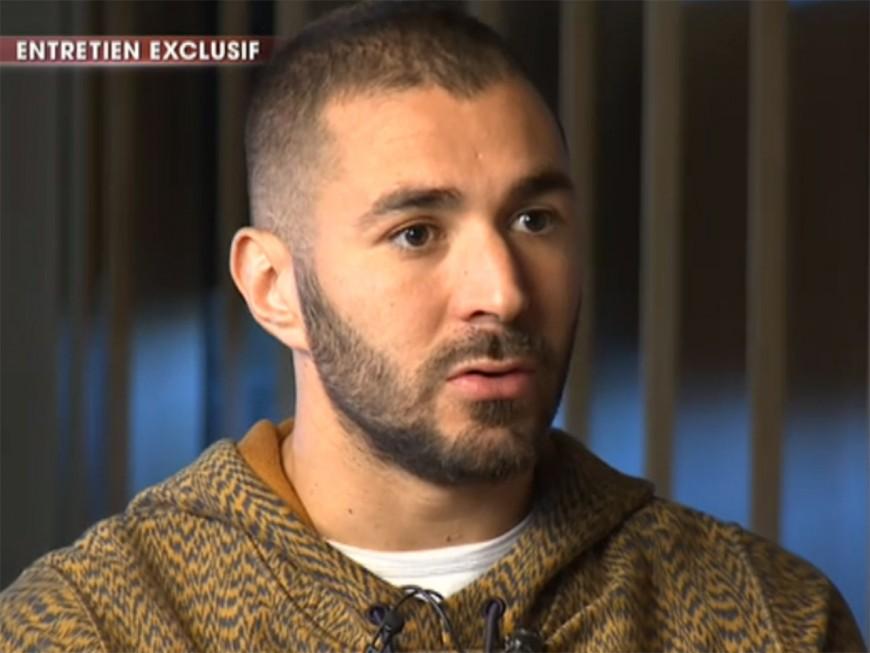 """""""Je n'ai rien fait, je ne suis pas coupable"""" : la mise au point de Benzema sur TF1"""