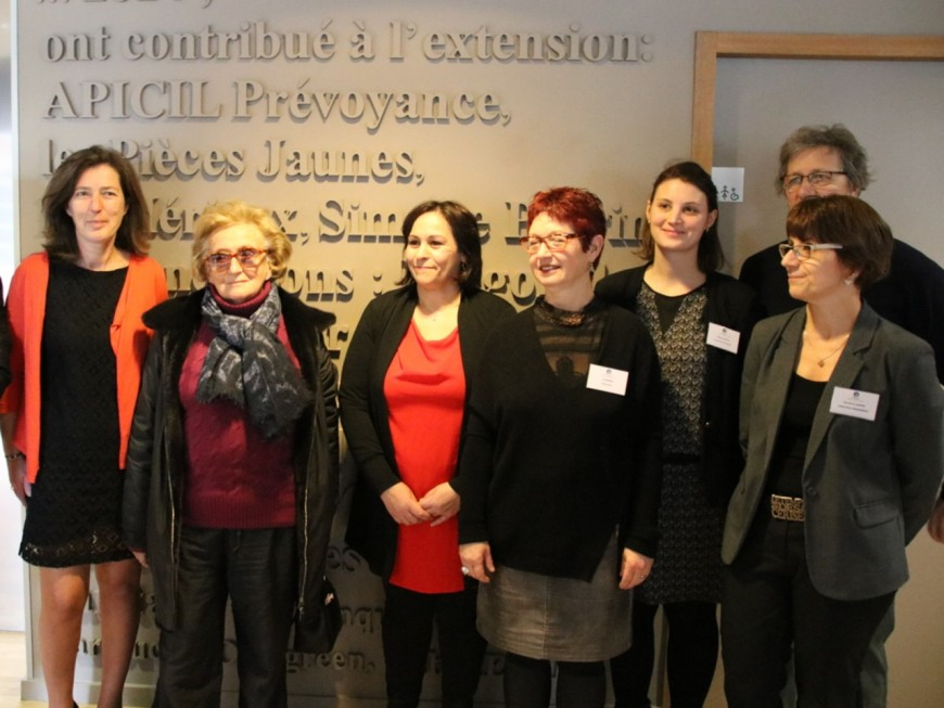 Bernardette Chirac à Lyon pour les Pièces Jaunes