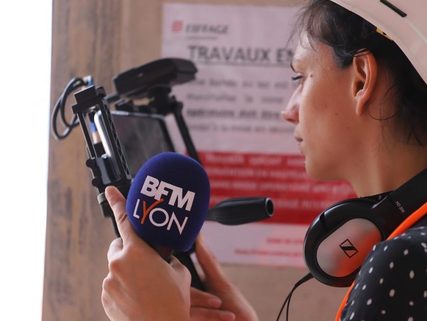 Les journalistes de BFM Lyon en grève contre des suppressions de postes