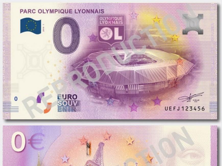 Le Parc OL a désormais son billet de banque !