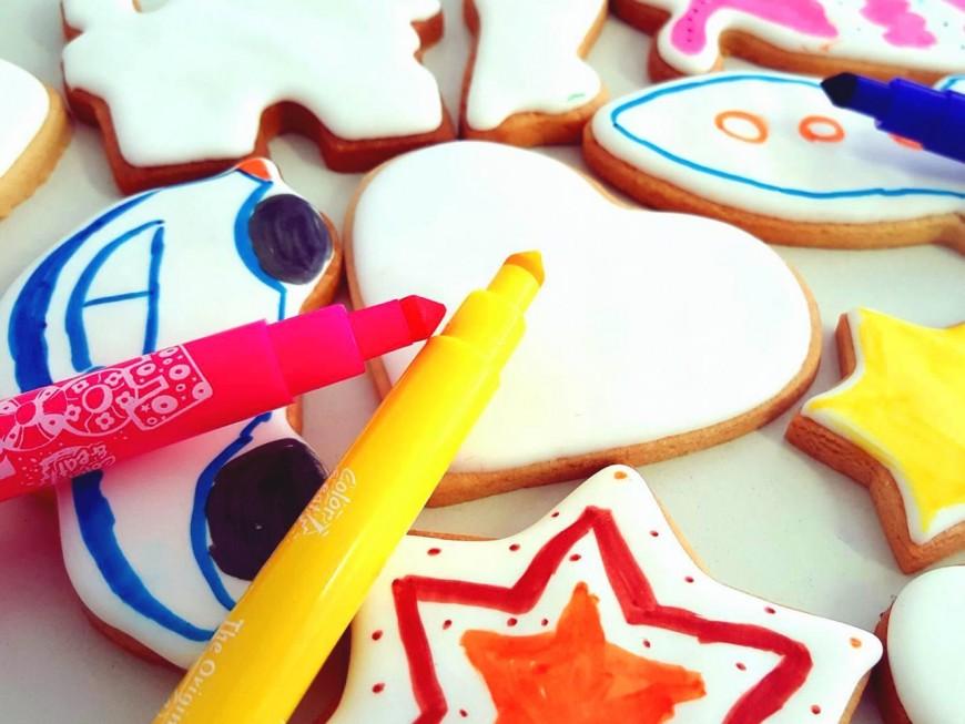 Les biscuits à colorier débarquent à Lyon!