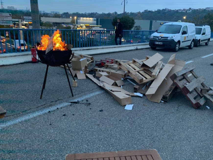Nouveau blocage à la raffinerie de Feyzin ce mardi