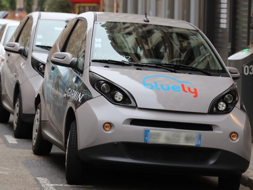 Lyon : clap de fin ce lundi pour le service Bluely