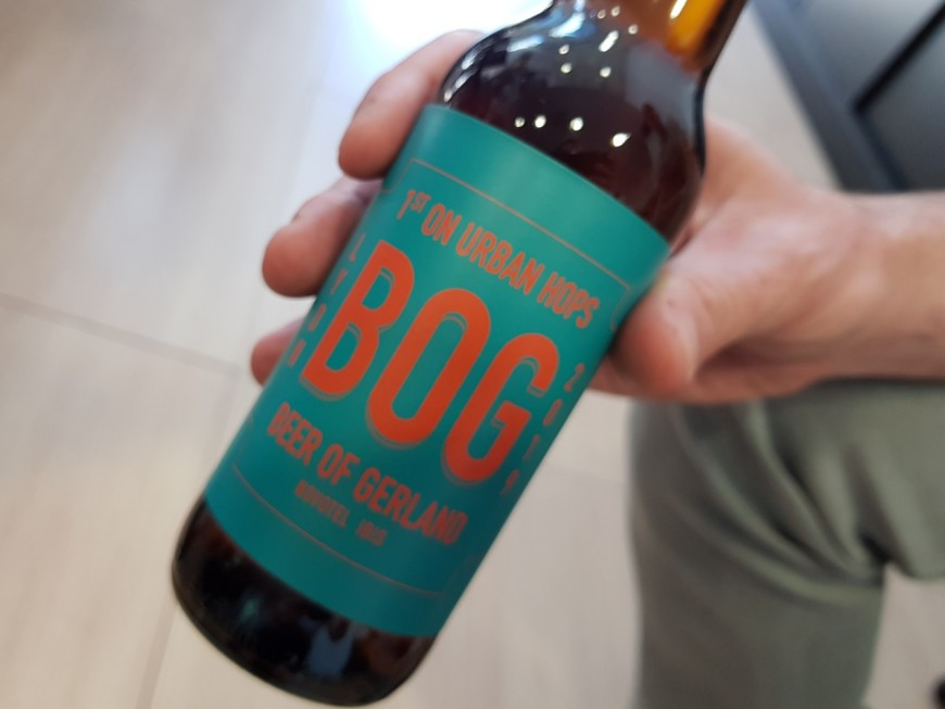 Lyon tient sa première bière urbaine !