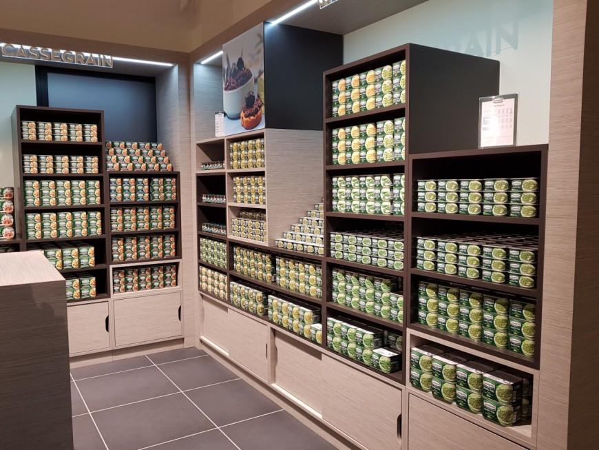 """Rhône : Bonduelle a ouvert sa boutique """"L'émotion végétale"""""""