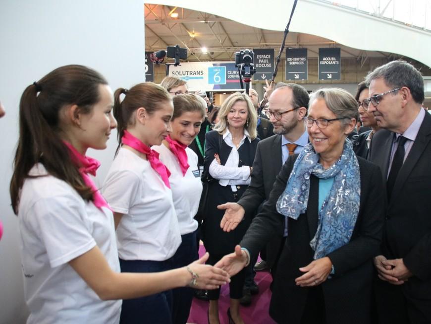 Solutrans inauguré par Elisabeth Borne