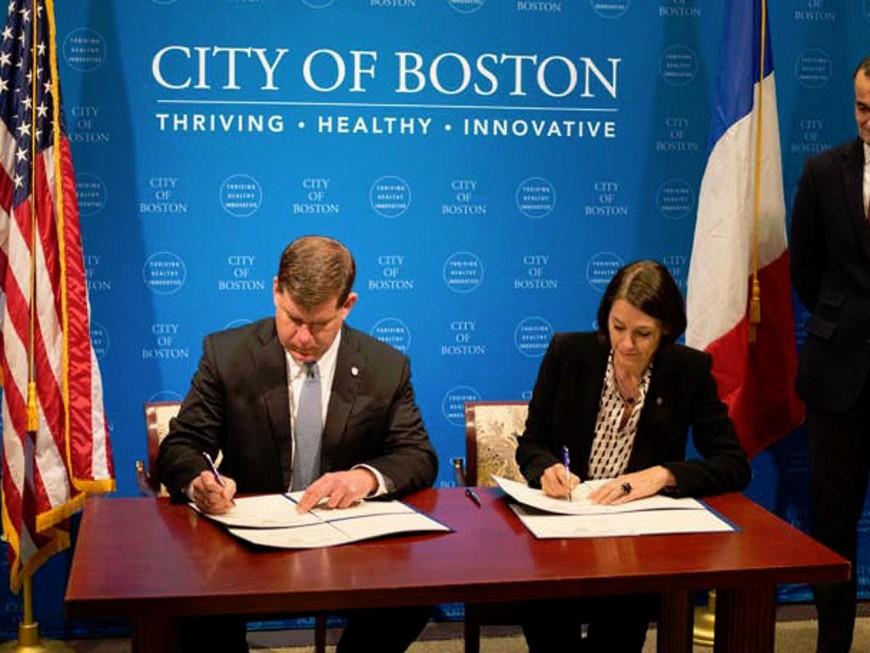 Lyon et Boston signent un partenariat prometteur