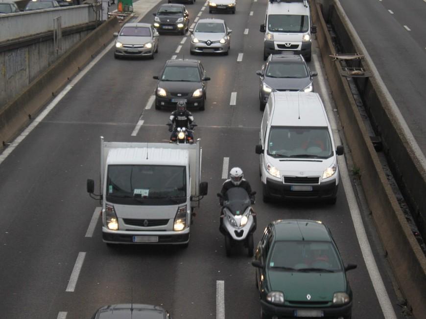 Circulation compliquée ce lundi matin entre Lyon et Saint-Etienne