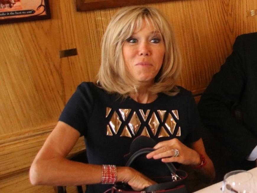 Brigitte Macron en déplacement à Lyon ce mardi