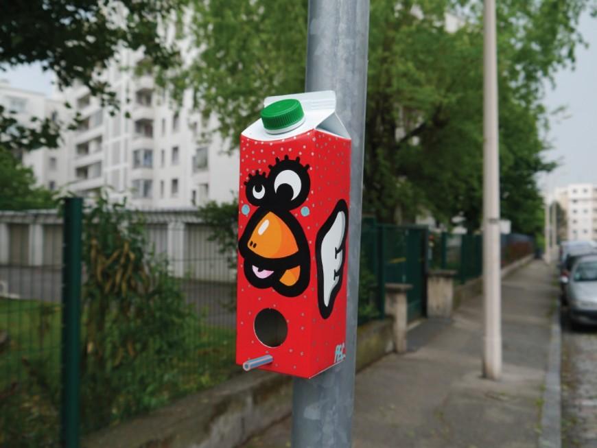 Des œuvres du créateur de Birdy Kids cachées en ville, les Lyonnais invités à une véritable chasse au trésor